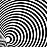 Сходиться, излучая выравнивает абстрактную monochrome картину в squar иллюстрация штока