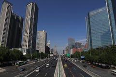 Сценарий 1 бульвара Пекина changan стоковые фотографии rf