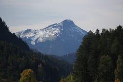 Сценарная горная вершина Стоковая Фотография
