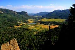 Сценарная долина Стоковое Изображение RF