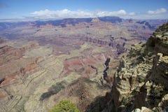 Сценарная перспектива грандиозного каньона Стоковые Фотографии RF
