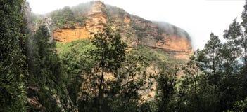 Сценарная точка зрения в голубых горах стоковое изображение