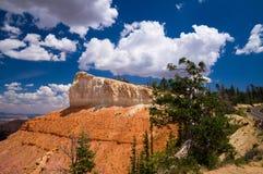 Сценарная точка зрения на каньоне Bryce Стоковые Изображения
