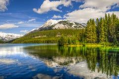 Сценарное озеро 2 Джек Стоковые Изображения