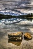 Сценарное озеро 2 Джек Стоковое Изображение