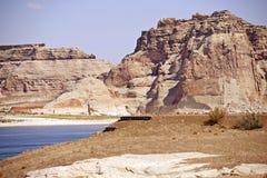 Сценарное озеро Пауэлл Стоковые Фотографии RF