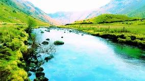 Сценарное река сельской местности Стоковые Изображения