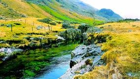 Сценарное река сельской местности Стоковое фото RF