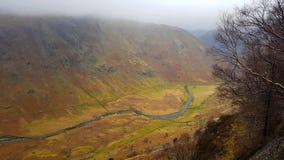 Сценарное река сельской местности Стоковое Изображение RF