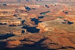 Сценарное Canyonlands Юта Стоковые Фото