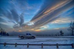 Сценарные взгляды на коричневой горе обозревают в Северной Каролине на солнце стоковые фото