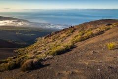 Сценарные горные склоны Стоковая Фотография RF