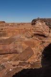 Сценарные грандиозное & x28; Chocolate& x29; Падения Аризона Стоковое Фото
