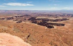 Сценарные каньоны Стоковая Фотография