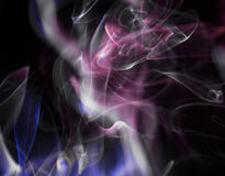 Сценарные облака дыма Стоковое фото RF