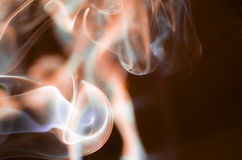 Сценарные облака дыма Стоковые Изображения RF