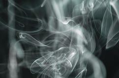Сценарные облака дыма Стоковое Изображение