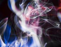 Сценарные облака дыма Стоковое Изображение RF