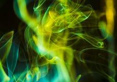 Сценарные облака дыма Стоковые Фото