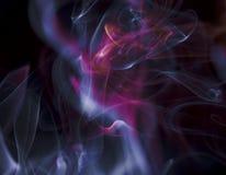 Сценарные облака дыма Стоковое Фото