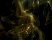 Сценарные облака дыма Стоковая Фотография