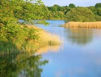 Сценарные озера стоковое фото