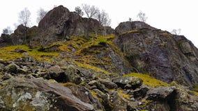 Сценарные скалы сельской местности Стоковая Фотография RF