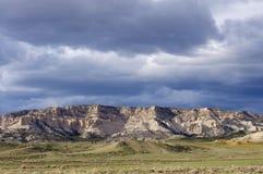 Сценарный ландшафт Вайоминга Стоковое фото RF