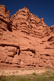 Сценарный ландшафт, горы атласа, Марокко Стоковые Фотографии RF