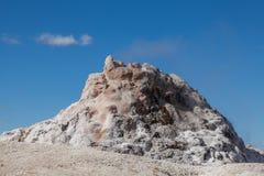 Сценарный большой гейзер фонтана Стоковые Фотографии RF