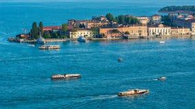 Сценарный Венеции, Италии стоковые изображения rf
