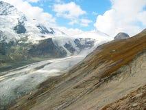 Сценарный взгляд ледника Grossglockner в Австрии стоковое фото rf