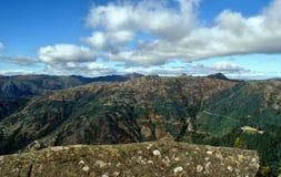 Сценарный взгляд национального парка Peneda Geres стоковое фото