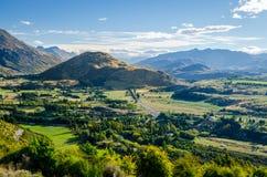 Сценарный взгляд в Новой Зеландии Стоковое Изображение RF