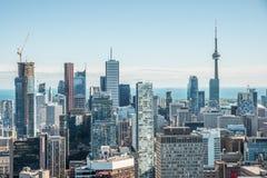 Сценарный взгляд городского Торонто Стоковая Фотография RF