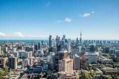 Сценарный взгляд городского Торонто Стоковое Фото