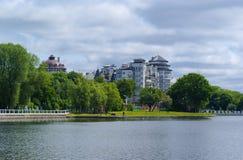Сценарный взгляд зданий Стоковые Фотографии RF
