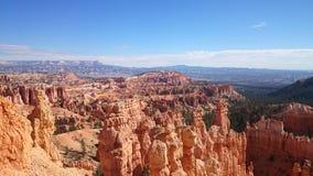 Сценарный взгляд каньона Bryce Стоковая Фотография RF