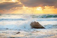 Сценарный взгляд красивого восхода солнца Стоковые Изображения RF
