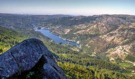 Сценарный взгляд национального парка Peneda Geres стоковые изображения rf