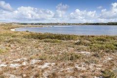 Сценарный взгляд над одним из пляжей острова Rottnest, Australi Стоковое Изображение