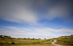 Село в сельской местности Стоковые Фотографии RF