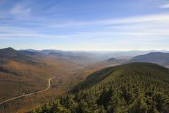 Сценарный взгляд от горы карамболя стоковая фотография rf