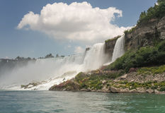 Облако над Ниагарским Водопадом Стоковые Фотографии RF