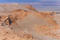 Сценарный взгляд пустыни Atacama Стоковая Фотография
