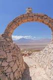 Сценарный взгляд пустыни Atacama Стоковые Изображения