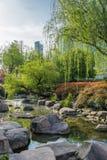 Сценарный взгляд фарфора Шанхая парка gucheng стоковые фотографии rf