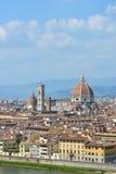 Сценарный взгляд Флоренса, Италии Стоковое фото RF