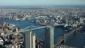 Сценарный взгляд NYC Стоковое фото RF