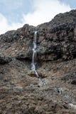 Сценарный водопад в национальном парке Tongariro Стоковое Изображение